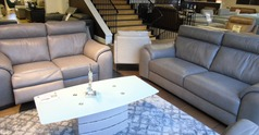 Sapri 3 seater and electric recliner 2 seater dark grey £2799  (SUPERSTORE) - Click for more details