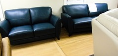 Cordoba 3 seater and 2 seater deep blue £1299 (SUPERSTORE) - Click for more details