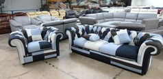 Chesterfield multi 3 seater and 1 chair £999 (SUPERSTORE) - Click for more details