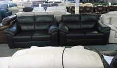 Pescaro 2 seater and 2 seater brown £899 (SUPERSTORE) - Click for more details