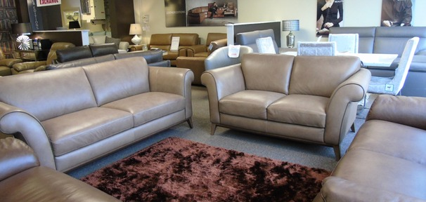 Lucca 3 seater and 2 seater taupe £2299 (SUPERSTORE)