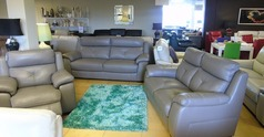 Strasbourg 3 seater and 2 seater and electric recliner chair granite  £2699 (SUPERSTORE)  - Click for more details