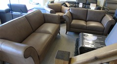 Lucca 3 seater and 2 seater taupe £2299 (CARDIFF) - Click for more details