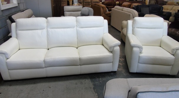 Mendip 3 seaterand 1 chair white £399