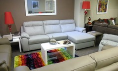 Latina double electric recliner chaise sofa £1499 (SUPERSTORE) - Click for more details