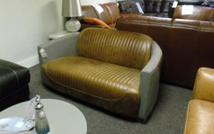 Richmond 2 seater sofa vintage tan  £699 (SUPERSTORE) - Click for more details