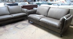 FORLI 3 seater and 3 seater taupe suede £1499 (SUPERSTORE) - Click for more details