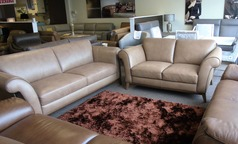 Lucca 3 seater and 2 seater taupe £2299 (NEWPORT) - Click for more details