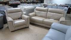 Chippenham 3 seater and power chair mid beige £999 (SUPERSTORE) - Click for more details