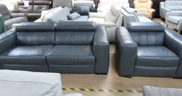 Bellini electric recliner 3 seater and 1 chair £1499  (SUPERSTORE)