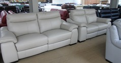 Marseille 3 Midi compact and electric recliner 2 seater stone hide £2499 (SUPERSTORE)  - Click for more details