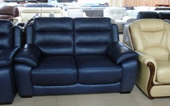 Charlotte 2 seater sofa blue £799 (SUPERSTORE) - Click for more details