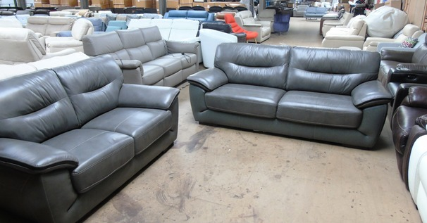 Santorini 3 seater and 2 seater grey £899 (SUPERSTORE)