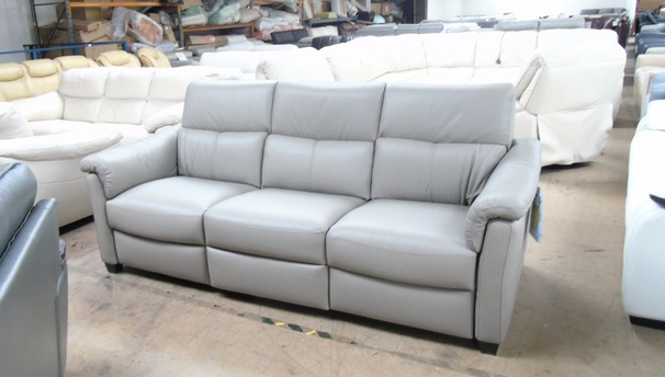 Osta electric recliner 3 seater sofa stone grey £1299 (SUPERSTORE)
