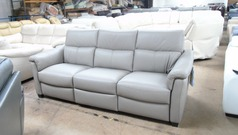 Ostia electric recliner 3 seater sofa stone grey £1299 (SUPERSTORE)  - Click for more details