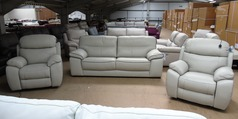 NAPA 3 seater  and 2  Barcelona electric recliner £2799 (SUPERSTORE) - Click for more details