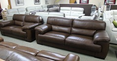 Rosa 3 seater and 2 seater Kansas Brown £2199 (SWANSEA) - Click for more details