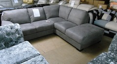 Baresi right hand facing arm grey fabric £999 (SUPERSTORE) - Click for more details