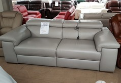 Lazio double electric recliner sofa grey £1499 (SUPERSTORE) - Click for more details
