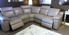 Palinuro double electric recliner corner suite £3499 (SUPERSTORE) - Click for more details