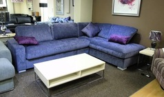 Colorado purple fabric corner suite £749.00 (SUPERSTORE) - Click for more details