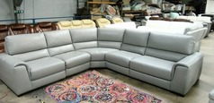 Imola double electric recliner corner suite £2499 (SUPERSTORE) - Click for more details