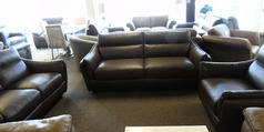 Anzio 3 seater, 2 seater and chair brown £2999 (SUPERSTORE) - Click for more details