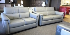 OSTIA 3 seater and 2 seater stone hide £2199 (SUPERSTORE) - Click for more details