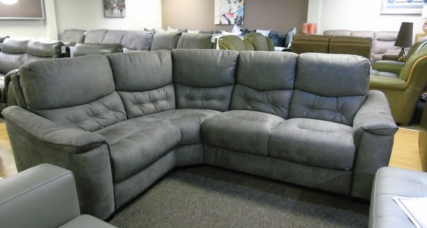 Brighton corner grey fabric right arm facing £599 (SUPERSTORE)