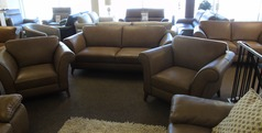 Lucca 3 seater and 2 chairs £2499 (SUPERSTORE) - Click for more details