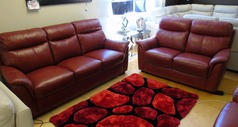 Brussels 3 seater and 2 seater £1899 (SWANSEA SUPERSTORE) - Click for more details