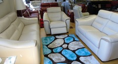 Luxembourg 3 seater, 2 seater and electric recline chair £2799 - Click for more details