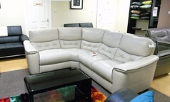Brighton corner stone leather right arm facing £999 (CARDIFF SUPERSTORE) - Click for more details