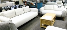 Malmo 3 seater and 2 seater beige £599 (CARDIFF SUPERSTORE) - Click for more details