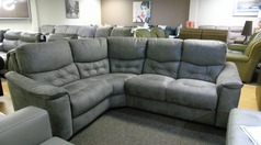 Brighton grey  fabric corner right arm £599 (CARDIFF SUPERSTORE) - Click for more details