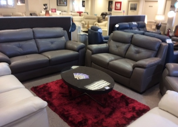 Strasbourg 3 seater and 2 seater granite  £1999 (CARDIFF SUPERSTORE)