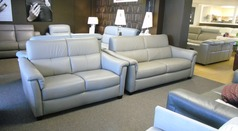 Ostia 3 seater and 2 seater grey  £2199 (CARDIFF SUPERSTORE) - Click for more details