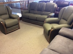 Gradi Amalfi 3 seater and 2 chairs willow £1999 (CARDIFF SUPERSTORE) - Click for more details
