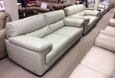 Rosa 3 seater and 2 seater stone hide £2399  (CARDIFF SUPERSTORE) - Click for more details