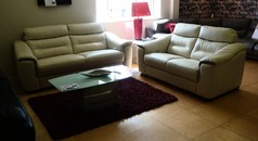 Luxembourg 3 seater, 2 seater  mid beige  £1999 (CARDIFF SUPERSTORE) - Click for more details