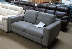 Arezzo 2 seater sofa grey £499 (SWANSEA SUPERSTORE) - Click for more details