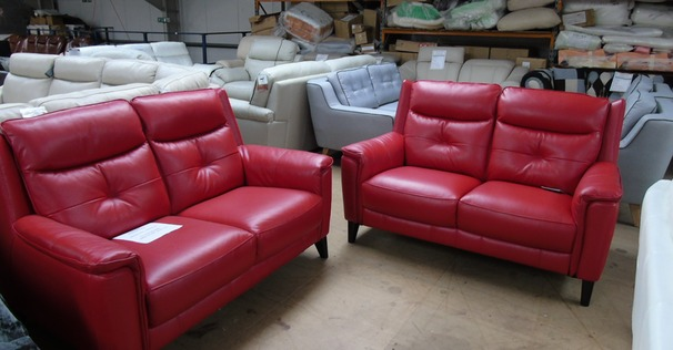 Winchester 2 seater and 2 seater red £1499 (SWANSEA SUPERSTORE)