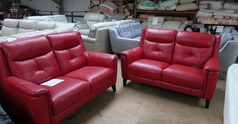 Winchester 2 seater and 2 seater red £1499 (SWANSEA SUPERSTORE) - Click for more details