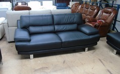 Fraisse 3 seater sofa black £399 (SWANSEA SUPERSTORE)  - Click for more details