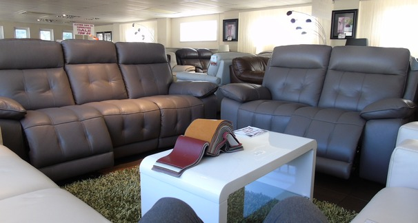 TOLEDO electric recliner 3 seater and 2 seater  £2399 taupe (SWANSEA SUPERSTORE)