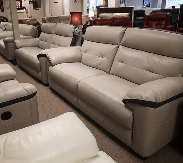 LE MANS  3 seater and 2 seater stone-dark trim £2099 (CARDIFF SUPERSTORE)