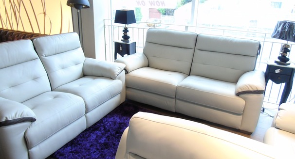 LE MANS  3 seater and 2 seater stone-dark trim £2099 (NEWPORT)