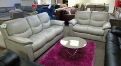 Lillle 3 seater and 2 seater grey £1299 (NEWPORT) - Click for more details
