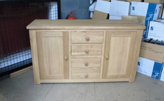 Light oak side board £399 (SWANSEA SUPERSTORE) - Click for more details