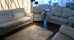 Valencia 3 seater, 2 seater and electric recliner chair £2199 (SWANSEA SUPERSTORE) - Click for more details